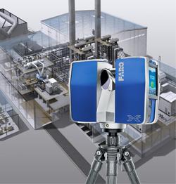 Лазерный 3D сканер FARO для сложных обмеров и BIM моделей